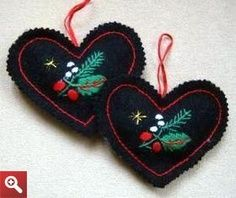 These Hungarian Embroidered Christmas Ornaments are so beautiful and so unique! This is a great Christmas ornament craft for embroidery lovers.