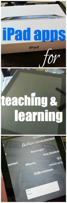 a call for the best iPad apps for teaching and learning, from parent and teacher experts #weteach