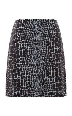 Cotton Jersey Printed Skirt by Kenzo Rtw Now Available on Moda Operandi