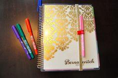 Erin Condren Life Planner 2014 VS Filofax | Pretentious Pink