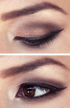 keiko lynn: Makeup Monday: Brown Fade