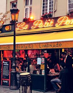 Paris outdoor bistros cafes on pinterest 122 pins - Le comptoir du petit marguery paris 13 ...