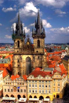 Church of Our Lady Before Tyn - Prague