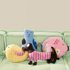 Animal Pillows - very cute