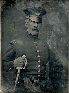 One of 1st war photos ever--Col. John Hamtramck of VA Volunteers in Mexican War - from Twitter Pics @BeschlossDC