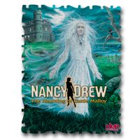 Puzzle featuring the cover art of The Haunting of Castle Malloy. Available at the Her Interactive Merchandise Store.