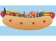 Hot dog town.