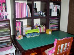 Craft Room by PinkTulipZA, via Flickr