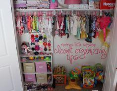 closet organizing tips.