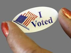 I vote for the free sticker. #WhyIVote