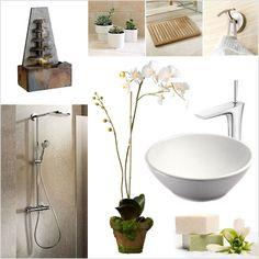 Bathrooms on pinterest behr paint behr and rental bathroom for Zen bathroom accessories