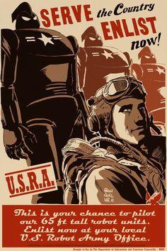 Dieselpunk: Enlist Now poster