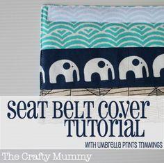 seat belt cover tutorial