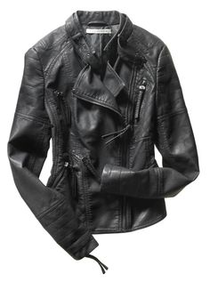 My signature piece! Pin & Win! Hot list. Rock and roll #StudioM #leather #statementjackets #macysfallstyle BUY NOW!