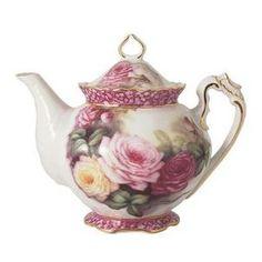 Roses Tea Pot