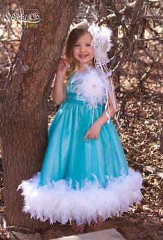 Forever Mine Princess Flower Girls Dress