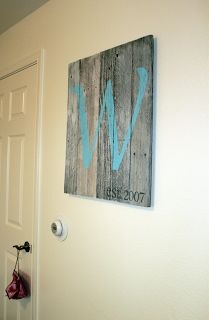 such a cute sign! would be perfect for the stairway wall:)