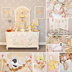 """A """"Cherish The Classics"""" Book Themed Back to School Tea Party by Nicole of Million Dollar $mile Celebrations- a girly and fresh take on back to school style! #BacktoSchool #TeaParty http://hwtm.me/16ZgVo5"""