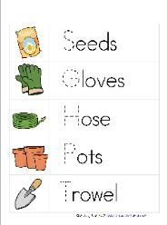 Gardening Preschool Pack. We are doing this as part of our Garden theme this summer!