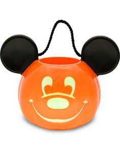 mice, olantern mickey, mickey mouse, mous trick, treat bucket, disney parks, halloween treat, jack olantern, lightup