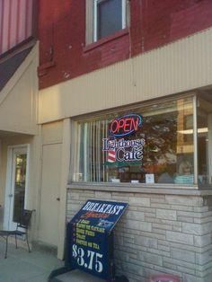 Light House Cafe Piqua Ohio. Best Breakfast in Piqua