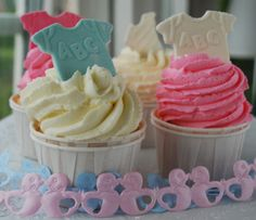 """Passion 4 baking """"Baby Shower Cupcakes"""