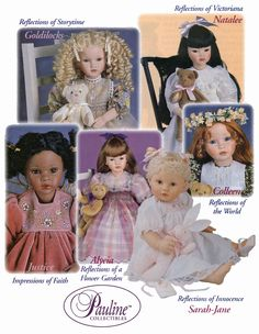 Goldilocks, Natalee, Colleen, Sarah-Jane, Justice, and Alycia, by Pauline Bjonness-Jacobsen