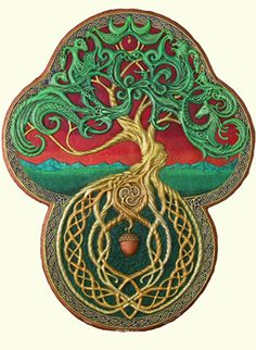 Celtic Tree of Life tattoo idea, celtic tree, trees, papers, a tattoo, tree art, artist, bird of paradise, tree of life