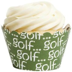 cupcake wrappers, golf cupcak, cupcak wrapper
