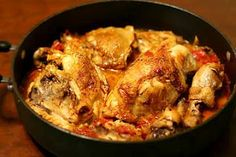 Provencal Chicken in