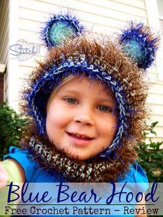 Blue Bear Hood – Pattern Review