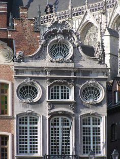 Rococo on the Grote Markt, Mechelen,  Belgium. Belgium is full of charm and is worth yout time and money.  TG