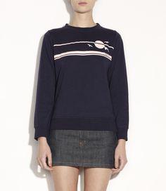 Skinny sunset sweatshirt -