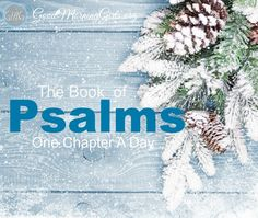 Join us as we read the book of Psalms - just one chapter a day. Perfect for this season!  Click here to print the free Bible Reading Plan.