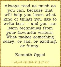 Quotable - Kenneth Oppel - Writers Write