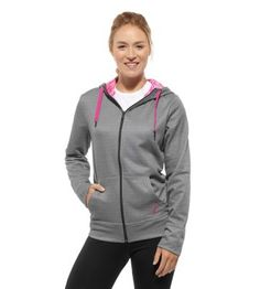 Sales of Reebok's Pink Ribbon Hoodie contribute to the company's $300,000 donation to the Avon Breast Cancer Crusade.
