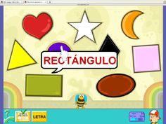Presentación de Las formas en la Nave de Pipo Online #preescolar, #infantil, #formas
