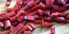 Ingredient of the week: Rhubarb