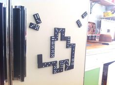 DIY Dominoes Fridge Magnets