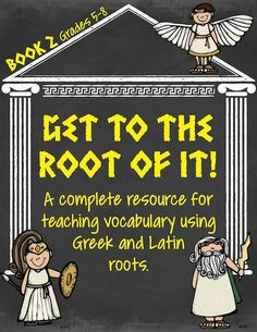 Over 250 pages that teaches 60 very useful Greek and Latin roots/affixes.  Book 2. $