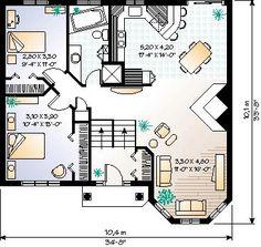 Cabin Floor Plans On Pinterest Traditional House Plans