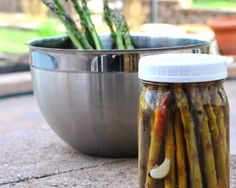 Easy Pickled Asparagus, quick and easy, low carb and practically no calories. NO canning required!