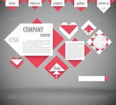 Website Design Template $3.00
