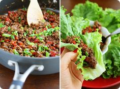 The Comfort of Cooking » Asian Beef Lettuce Wraps