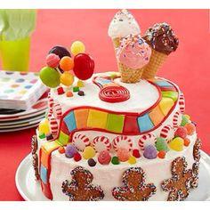 Candy land birthday cake!!