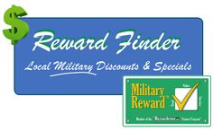 Great Military Discount finder.  Pick your branch and then your base or post and find businesses in your area that offer a #MilitaryDiscount