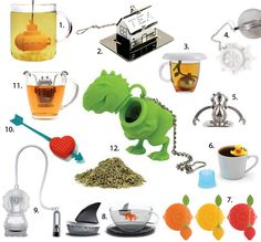 Two for Tea and Tea for Two: 12 Creative Tea Infusers - Brit  Co. - Food