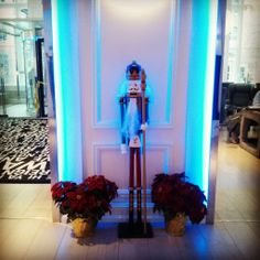 A classic #Nutcracker greets guests as they arrive at the brand new #RadissonBlu Warwick Hotel in #Philadelphia!  http://www.radissonblu.com/hotel-philadelphia