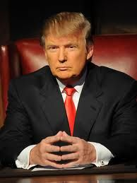I will like to be a strong business women like Donald Trump