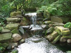 Koi Pond Waterfall | Koi Pond (Waterfall) | Flickr - Photo Sharing!